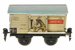 Märklin Gambrinus Bierwagen 1688, S 0, CL, Dach neu, 1 ST, L 13, sonst Z 2