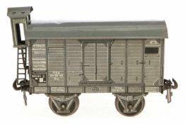 Carette gedeckter Güterwagen, S 1, CL, mit BRHh, 1 Puffer fehlt, LS, L 17, Z 2-3