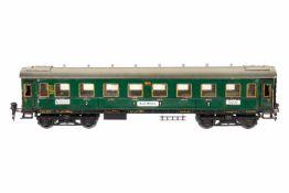 Märklin Personenwagen 1941, S 0, CL, 4 AT, 4A Gussräder, ohne Inneneinrichtung, mit NB-Schildern,