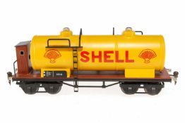 Berendt Shell Kesselwagen 1854, S 1, HL, mit BRH, Alterungsspuren, L 33, Z 1-2