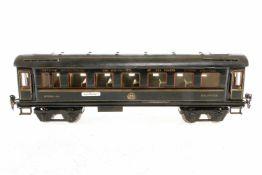 Märklin Prototyp int. Schlafwagen, S 1, blau HL, gelötete Ausführung, mit Inneneinrichtung, 4 AT,