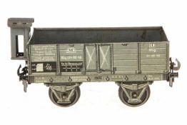 Carette Hochbordwagen, S 1, CL, mit BRHh, LS, L 17, Z 2-3