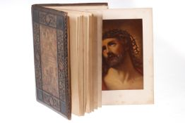 """Prachtausgabe mit 19 farbigen Drucken, biblische Szenen, """"Das Fürsterzbischöfliche Ordinariat Wien"""","""