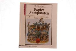 """Buch """"Papier-Antiquitäten"""", 179 Seiten"""