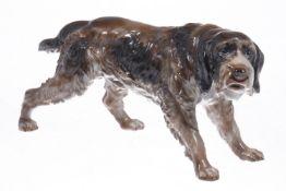 Rosenthal Jagdhund, 1930er Jahre, Modellnr. 1003, L 23 cm