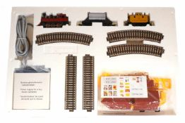 Märklin Hobby Western-Zugpackung 2921, S H0, komplett mit Metall-Gleisoval und Trafo, OK, Z 1-2