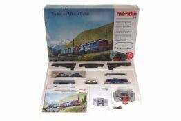 """Märklin Digital-Startpackung """"Schweizer Güterzug"""" 29484, S H0, komplett, OK, Z 1-2"""