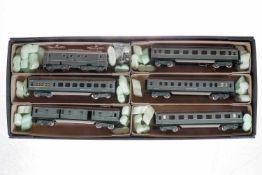 Märklin niederländischer Zug SEH 846 NS, S H0, Ritter Restauration, mit E-Lok und 5 Wagen, im RR-OK,