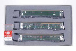 """Hag Wagenset """"MthB"""" 66004, S H0, komplett, grün, OK, Z 1-2"""
