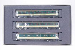 """Hag Wagenset """"BT"""" 66006, S H0, komplett, beige/grün, OK, Z 1-2"""