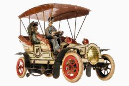 """Günthermann Automobil der Kaiserin, offener Viersitzer mit handlackiertem Blechverdeck, um 1905, """""""