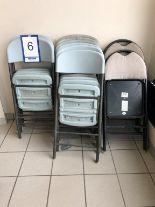 Lot 6 - Lot: 16 chaises pliantes