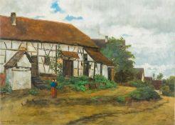 Amerongen, Friedrich von (Darmstadt, Bad Reichenhall 1878-1955, um 1897 Kronberger Malerkolonie)