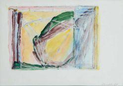Appelt, Dieter (geb. 1935 in Niemegk)Ohne Titel, 1984Tusche auf gelblichem Papier. Ca. 27×39 cm.