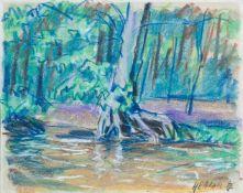Adametz, Heinrich Emil (Düsseldorf, Berlin 1884-1971)Baumstudien, 1905/1930 und Tiergarten Berlin,