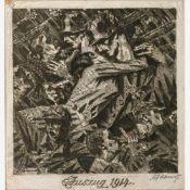 Adametz, Heinrich Emil (Düsseldorf, Berlin 1884-1971)Trauer und Abschied 1914-1923Konvolut von 10