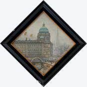 Corsep, Walter (Wittenberg, Erfurt 1862-1944)Berliner Schlossvon der Lustgartenseite her gesehen,