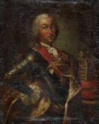 Höfischer Maler (M. 18. Jh.)Kaiser Franz I. Stephan von LothringenHüftbildnis im Kürass mit