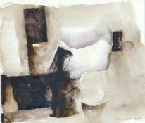 Appelt, Dieter (geb. 1935 Niemegk)Ohne Titel, 1984Aquarell auf Papier. Ca. 22×25,7 cm. Sign. u. dat.