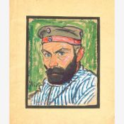 Adametz, Heinrich Emil (Düsseldorf, Berlin 1884-1971)Neun Porträtstudien, 1914-19222 Gouachen mit