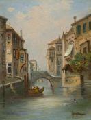 Kaufmann, Karl (Neuplachowitz, Wien 1843-1905) , zugeschriebenKanal in Venedig, Türkische