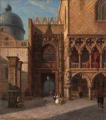 Gemmel, Hermann (Barten, Königsberg i. Pr. 1813-1868)Porta della CartaDogenpalast, Venedig.