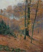 Eicken, Elisabeth von (Mülheim/Ruhr, Potsdam 1862-1940)HerbstgoldLaubwald mit gefärbten Blättern und