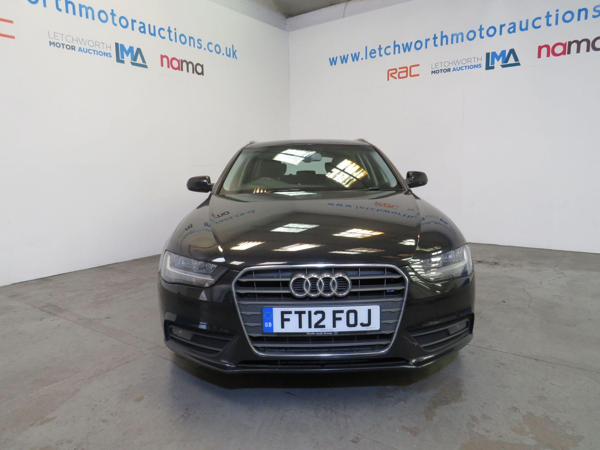Lot 18 - 2012 Audi A4 SE TDI CVT - 1968cc