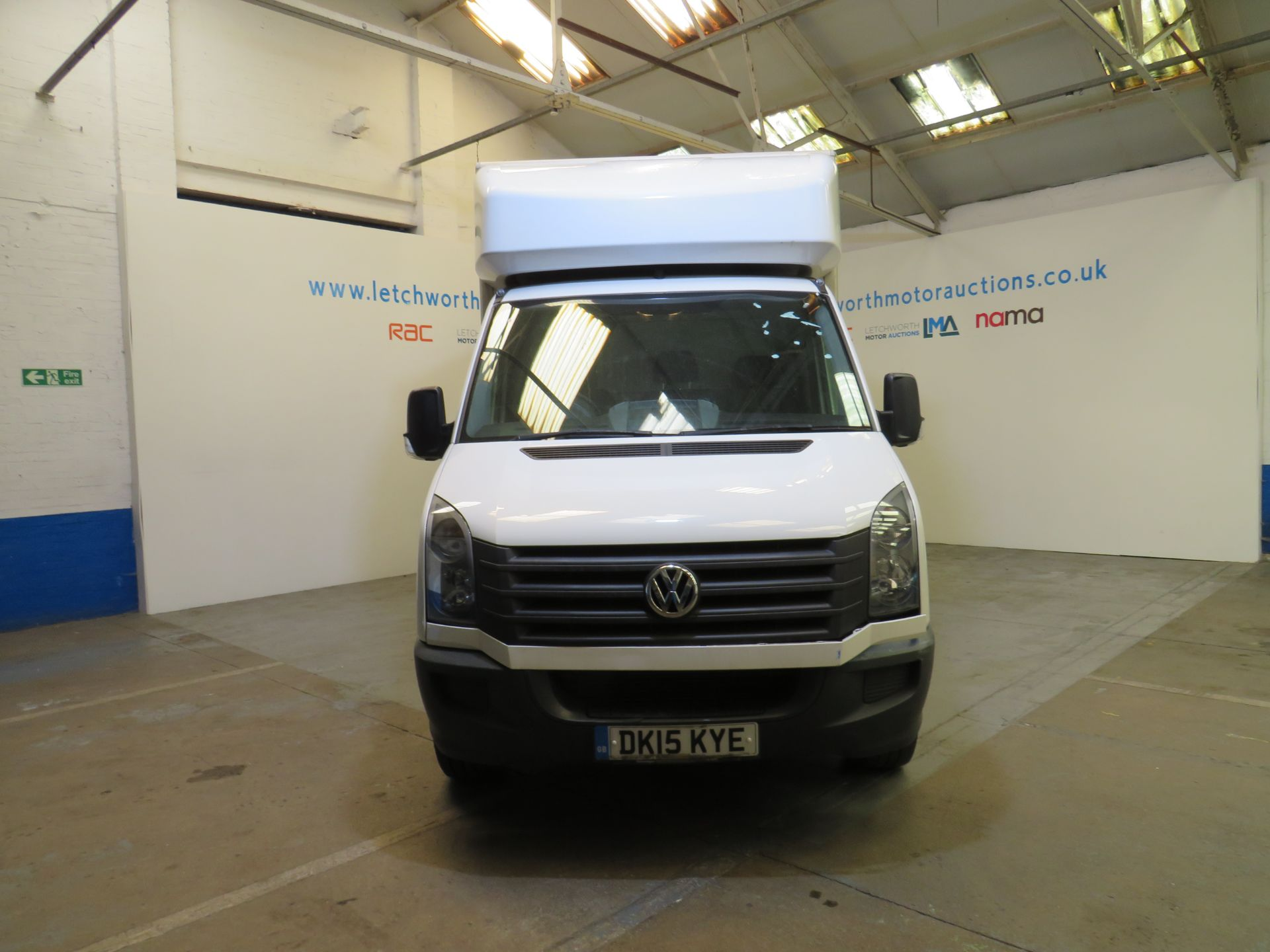 Lot 13 - 2015 Volkswagen Crafter CR35 TDI Luton Body - 1968cc