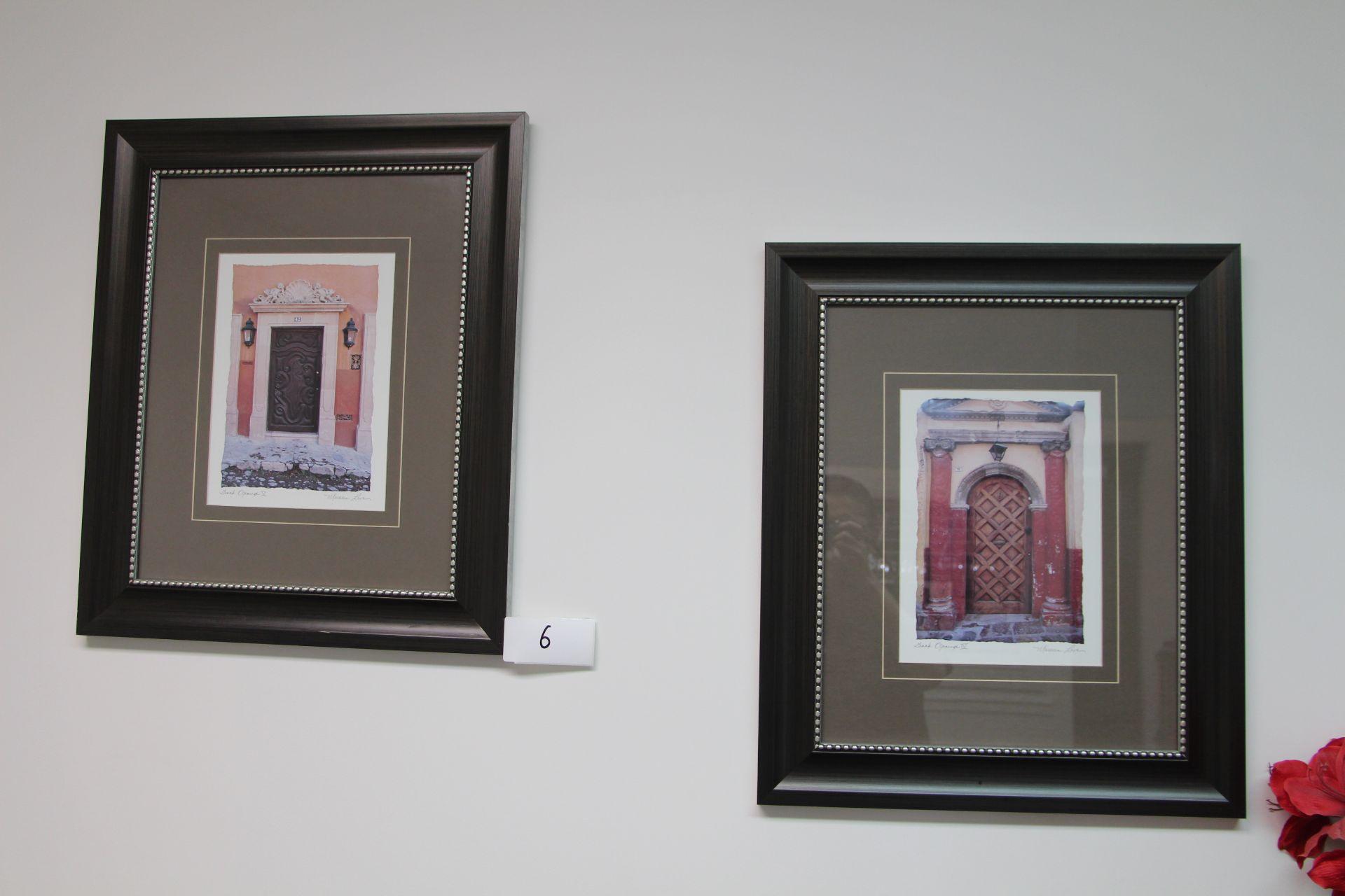 Lot 6 - Lot 2 framed prints