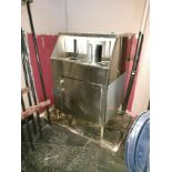 Stainless steel under counter Bar size glasswasher