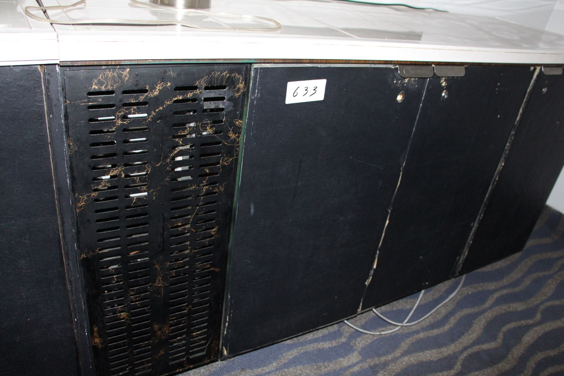Lot 633 - 3 Door undercounter cooler