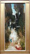 Hans Makart (1840 - 1884) Putti an einem Waldbach 1870/71 Öl auf Holz Provenienz: Familie Thier,