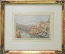 Franz Alt(1821 - 1914)Toledo1867Aquarell auf PapierSigniert, betitelt und datiert, Nachlassstempel