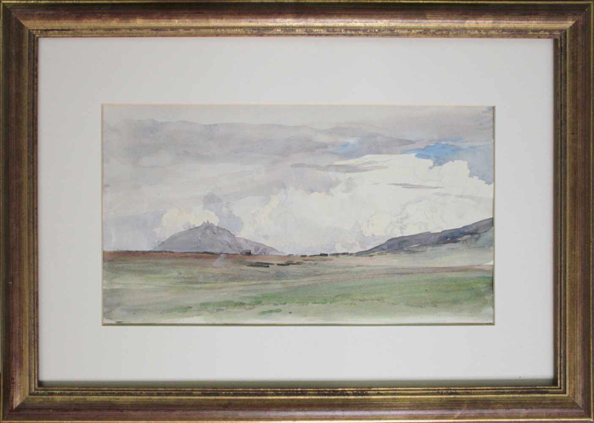 Edward Harrison Compton(1861 - 1960)Berglandschaft1920Aquarell auf PapierSigniert, datiert