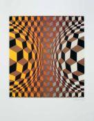 Victor Vasarely(1906 - 1997)Ohne Titel1970erSiebdruckSigniert, Ed. E.A.67 x 51 cm