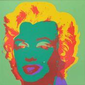 Andy Warhol(1928 - 1987)MarilynSiebdruck auf MuseumskartonStempel rückseitig, Sunday B. Morning