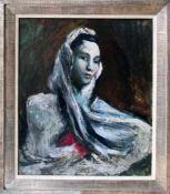 Josef Dobrowsky (1889 - 1964) Portrait 1943 Öl auf Leinwand Signiert und datiert 60,5 x 50,5 cm