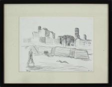 Gustav Hessing(1909 - 1981)N.Y.1965Tusche und Graphitsigniert, betitelt und datiert28 x 36 cm