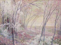 """Eduard Veith(1858 - 1925)""""Traumlandschaft""""1919Gouache auf PapierSigniert und datiert, gerahmt54 x 73"""