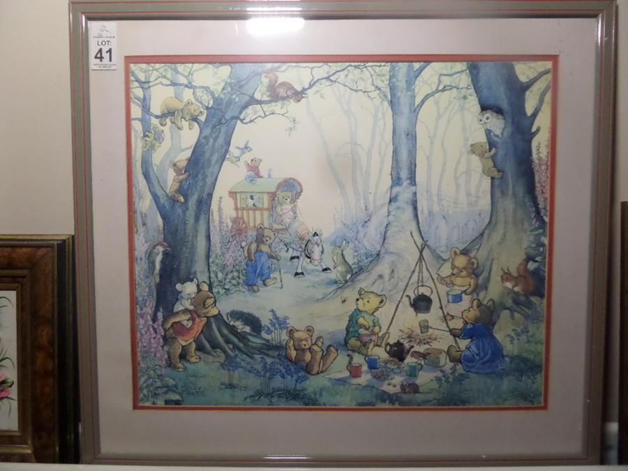 Lot 41 - TEDDY BEAR'S PICNIC BY MOLLY BRETT
