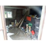 Lot 460 - FULL CONTENTS OF SHED
