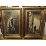 Lot 33 - PAIR OF GILT FRAMED PRINTS