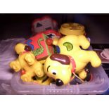 Lot 21 - TUB OF CLEAN TOYS