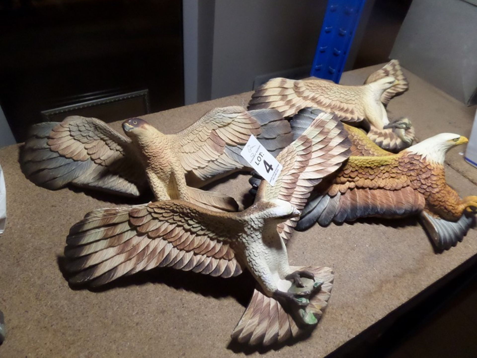 Lot 4 - 4X BOSSONS EAGLES
