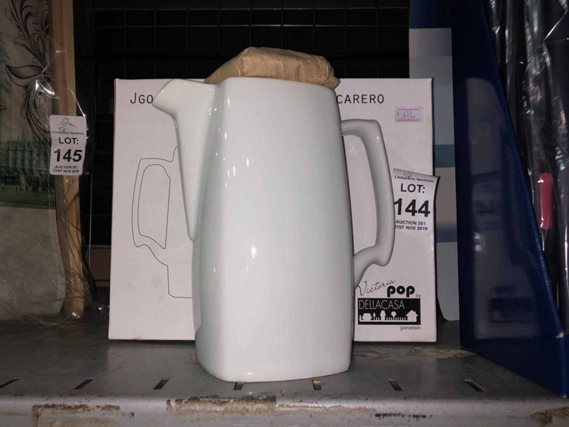 Lot 144 - NEW BOXED COFFEE POT JUG AND SUGAR BOWL SHOP CLEARANCE