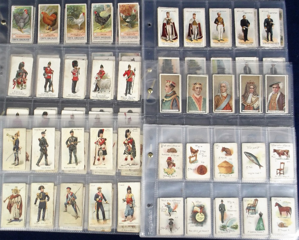 Lot 236 - Cigarette & trade cards, Lambert & Butler, Conundrums (green back) (set, 50 cards, poor/fair),
