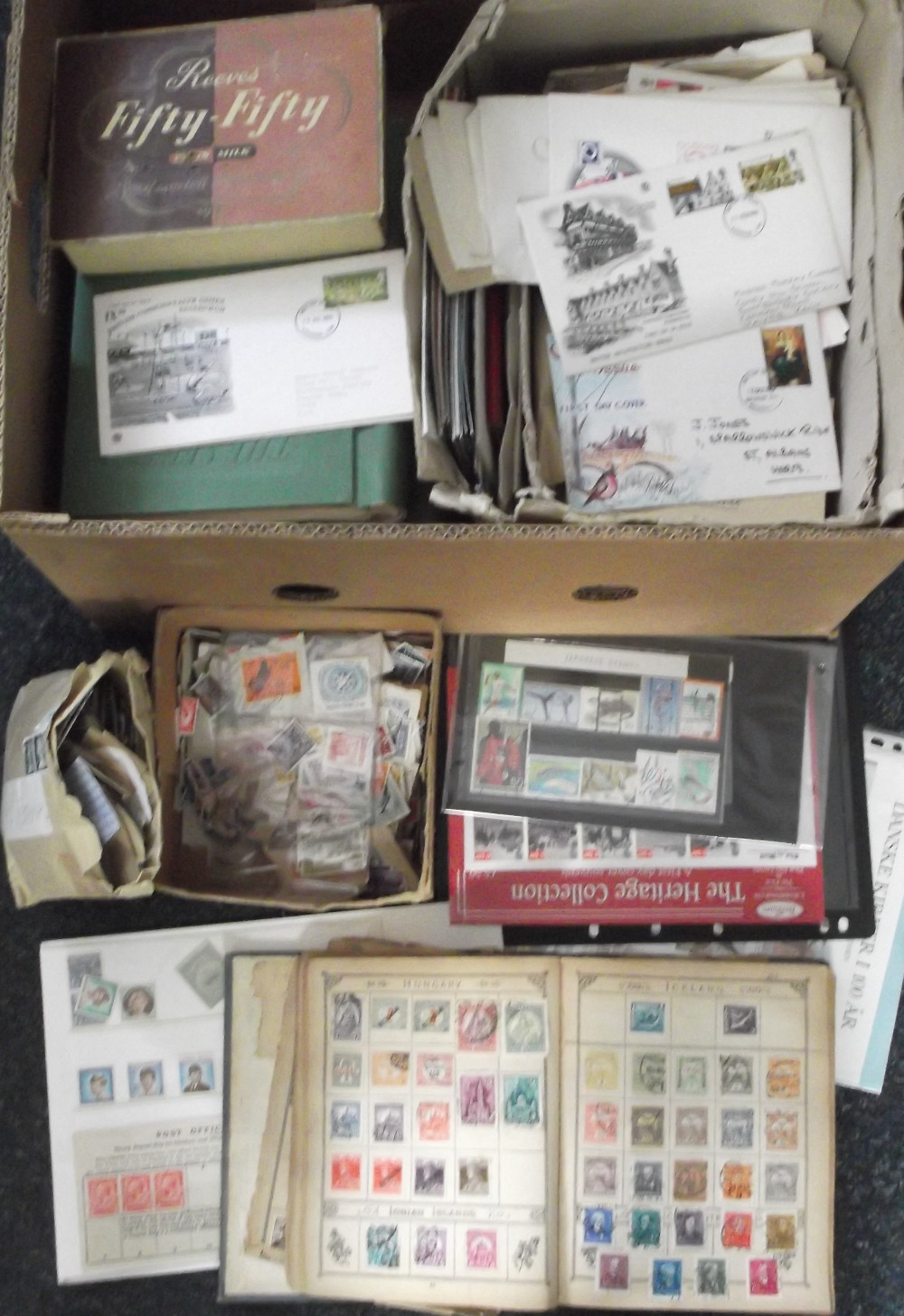 Lot 5 - Stamps & Covers, a large accumulation of GB and Worldwide stamps, early 1900's onwards, mint and
