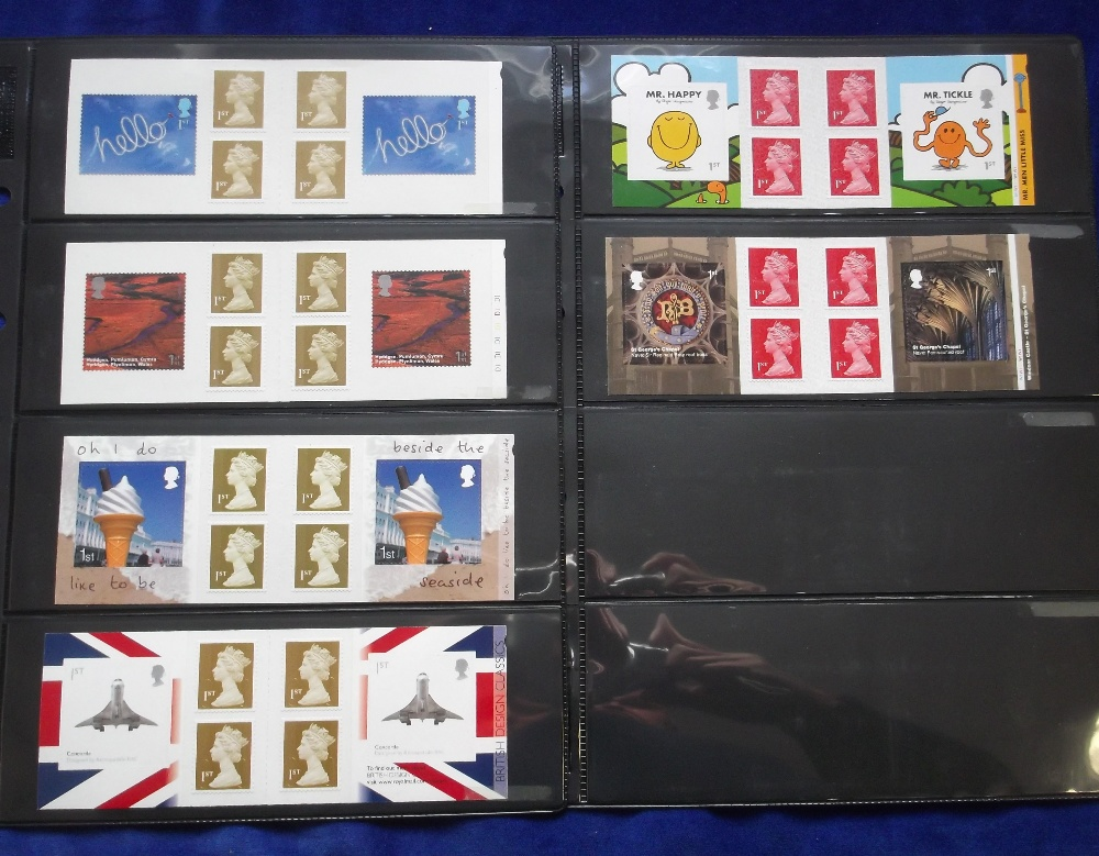 Lot 31 - Stamps, GB, QE2, a collection of 26 booklets from PM3 to PM54 some with cylinder numbers, each