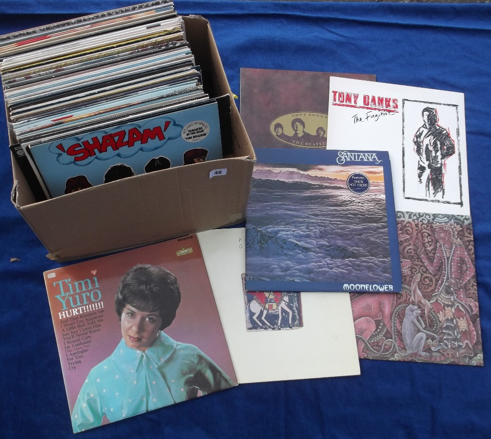 "Lot 48 - Vinyl Records, a collection of 60+ albums and 12"" singles, to include demo discs, various genres,"